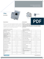 Catalogue M-BUS to Modbus