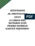 Atestados protocolo