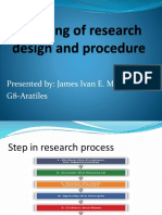 Planning-of-research-design-and-procedure