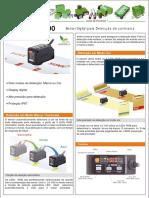 Sensor Detector de Marca LX-100_Folheto