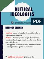 Political ideologies part 1