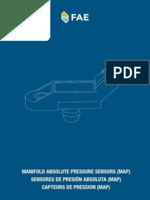 Presión aspiración sensor Fiat 500 C bravo brava doblo idea panda punto Qubo Stilo