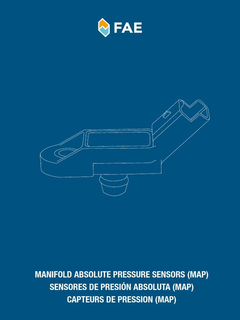 2002-05 Para Saab 9-5 2.2 TiD Diesel el Sensor de Presión de Aire Colector Mapa Absoluto