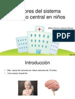 TUMORES SNC EN PEDIATRÍA