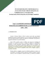Leiva, E. Evolución Políicas Sociales en Chile
