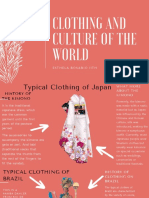 CLOTHING AND CULTURE OF THE WORLD (1)