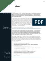 Professional Business Resume Letter CS4