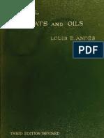 """Andés, L. (1920) """"Animal Fats and Oils"""", 3rd edition. D. Van Nostrand Company. New York."""