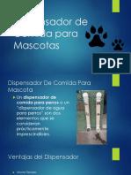 Dispensador de Comida para Mascotas