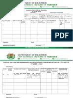 PROFILE  EPP & LOCALIZED MATERIALS