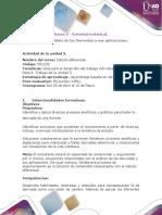 Anexo 5 - Actividad individual.  Paso 6 - Análisis de las Derivadas y sus aplicaciones.