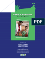 SERVE Science in After School Review