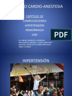 MODULO CARDIO-ANESTESIA CLASE COMPLICACIONES