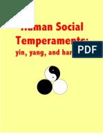 Human Social Temperaments