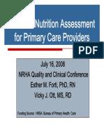 NutritionAssessmentfinal