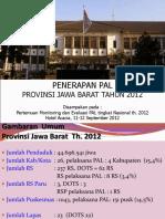 11 September 2012_Presentasi PAL Dinkes Provinsi Jawa Barat (Monev Nasional)