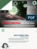 PENYULUHAN CORONA VIRUS