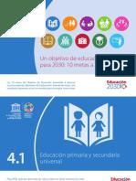 SP_SDG4 Targets