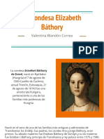 Unidad 1 Condesa Elizabeth Báthory - Valentina Blandón