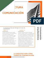 Arquitectura y Comunicación