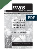 Temas Revolucionarios - Historia y Bases Del Marxismo Leninismo