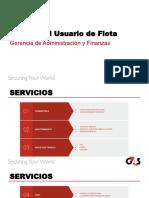 Manual del usuario de Flota G4S