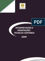 CPC - CFC - Interpretações e Orientações Tecnicas Contabeis