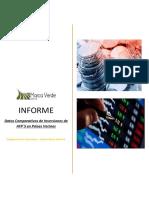 Comparativo de Inversiones AFPs