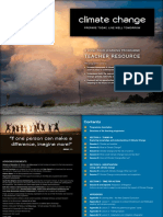 Climate Change Learning Programme – Teacher Resource