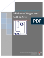 Circular on Minimum Wages and Increase of Salaries in 1388