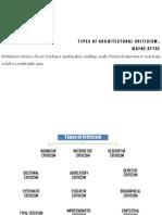 TYPES OF ARCHITECTURAL CRITICISM , WAYNE ATTOE [Compatibility Mode]