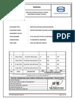 ERECTION & INSTALLATION PROCEDURE Clarifier