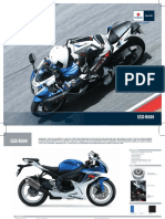 Manual Especificaciones GSXR600