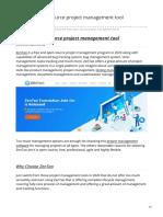 The Best Open Source Project Management Tool Zentao 2020