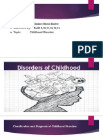 Disorders of Childhood