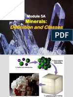Module 4A - Minerals, definition & classes