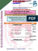 DEPORTE   El DXT de Coslada / Fin de semana del 8 y 9 de febrero