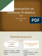 Monitorización en Anestesia Pediátrica presentacion