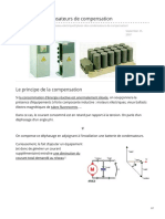condensateurs de compensation