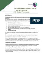 SEL_GP_Clinical_Pharmacist_PCN_job_description_and_spec_FINAL_9.9.19