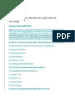Top 50 SAP FICO Interview Questions
