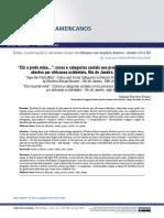 """""""Diz a preta mina."""". Cores e categorias sociais nos processos de divórcio abertos por africanas ocidentais, Rio de Janeiro, século XIX"""