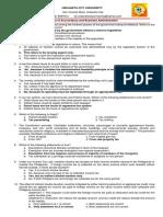 Tax 1 Midterm Exam 2019