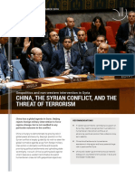 China the Syrian Conflict and the Threat of Terrorism Webversion