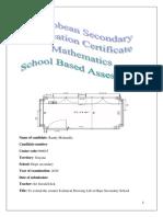 Mathematics SBA