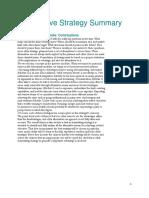 2014 Competitive Strategy Summary-Ashraf Nassef