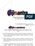 Digital Marketing Insitute in Noida Sector 18