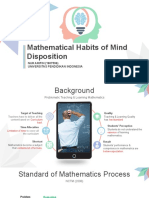 Mathematical Habits of Mind