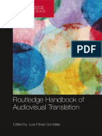 Luis Pérez-González - The Routledge Handbook of Audiovisual Translation-Routledge (2018)