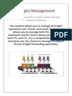 Freight Management Mantul